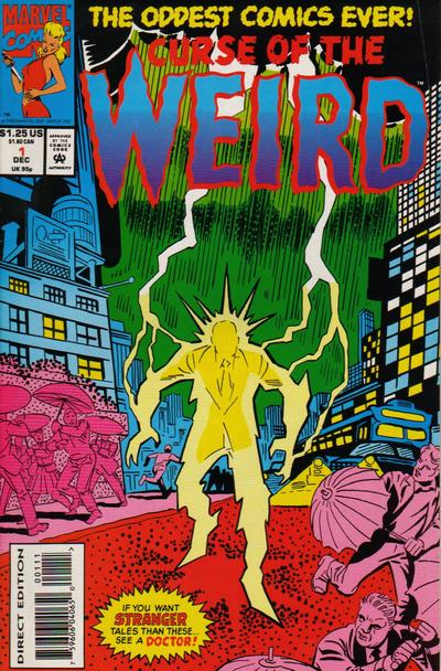 Curse of the Weird Vol 1 1