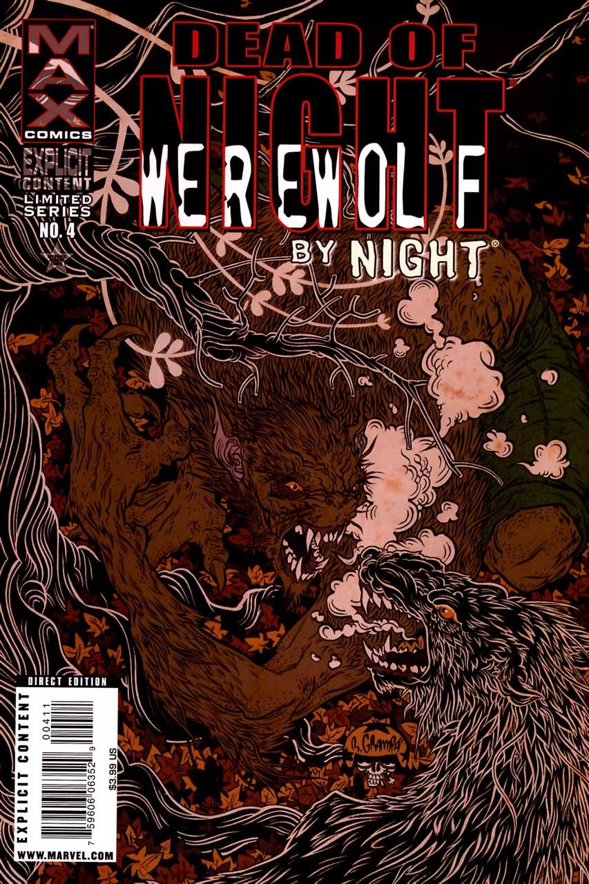 Dead of Night Featuring Werewolf by Night Vol 1 4