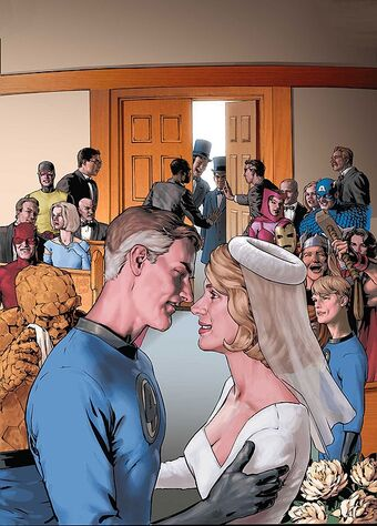 Fantastic Four Wedding Special #1  Variant  Marvel Comics CB16624