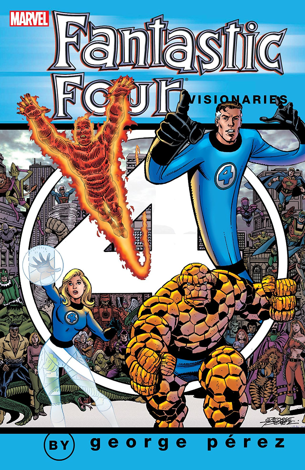 Fantastic Four Visionaries: George Perez TPB Vol 1 1