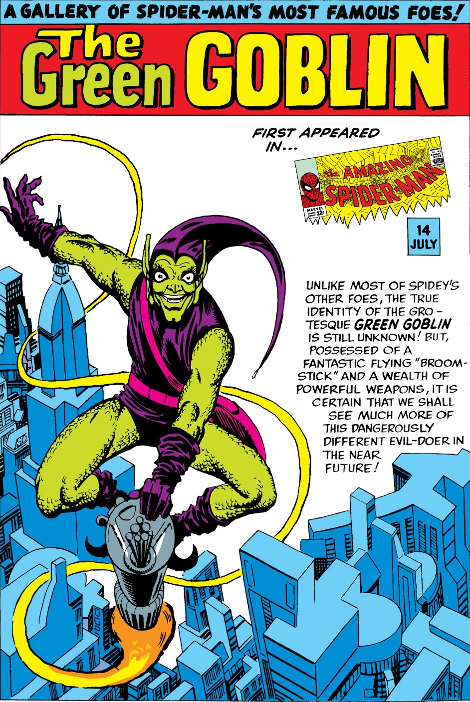 Green Goblin Pin-Up from Amazing Spider-Man Annual Vol 1 1.jpg
