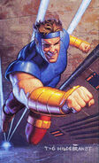 Henri Huang (Earth-928) from 1994 Marvel Masterpieces (Trading Cards) 001