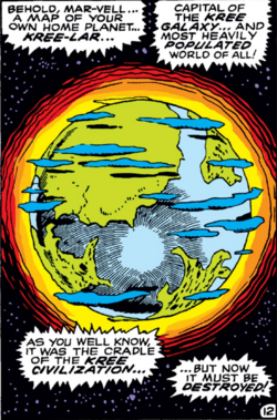 Kree-Lar (Planet) from Captain Marvel Vol 1 15 001.png