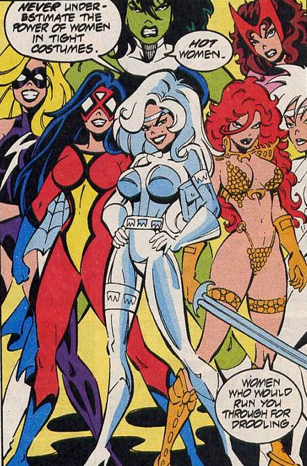 League of Liberated Leading Ladies (Land of Cancelled Heroes)