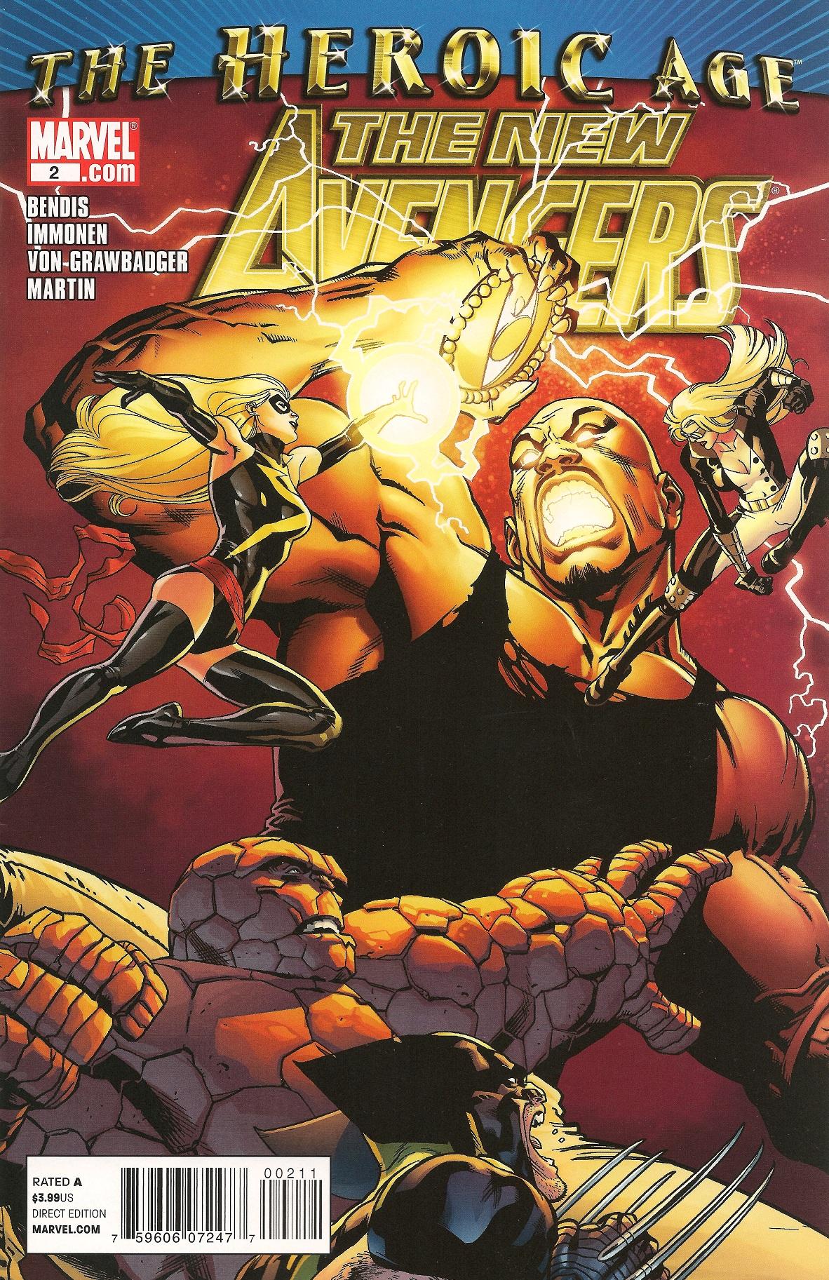 New Avengers Vol 2 2