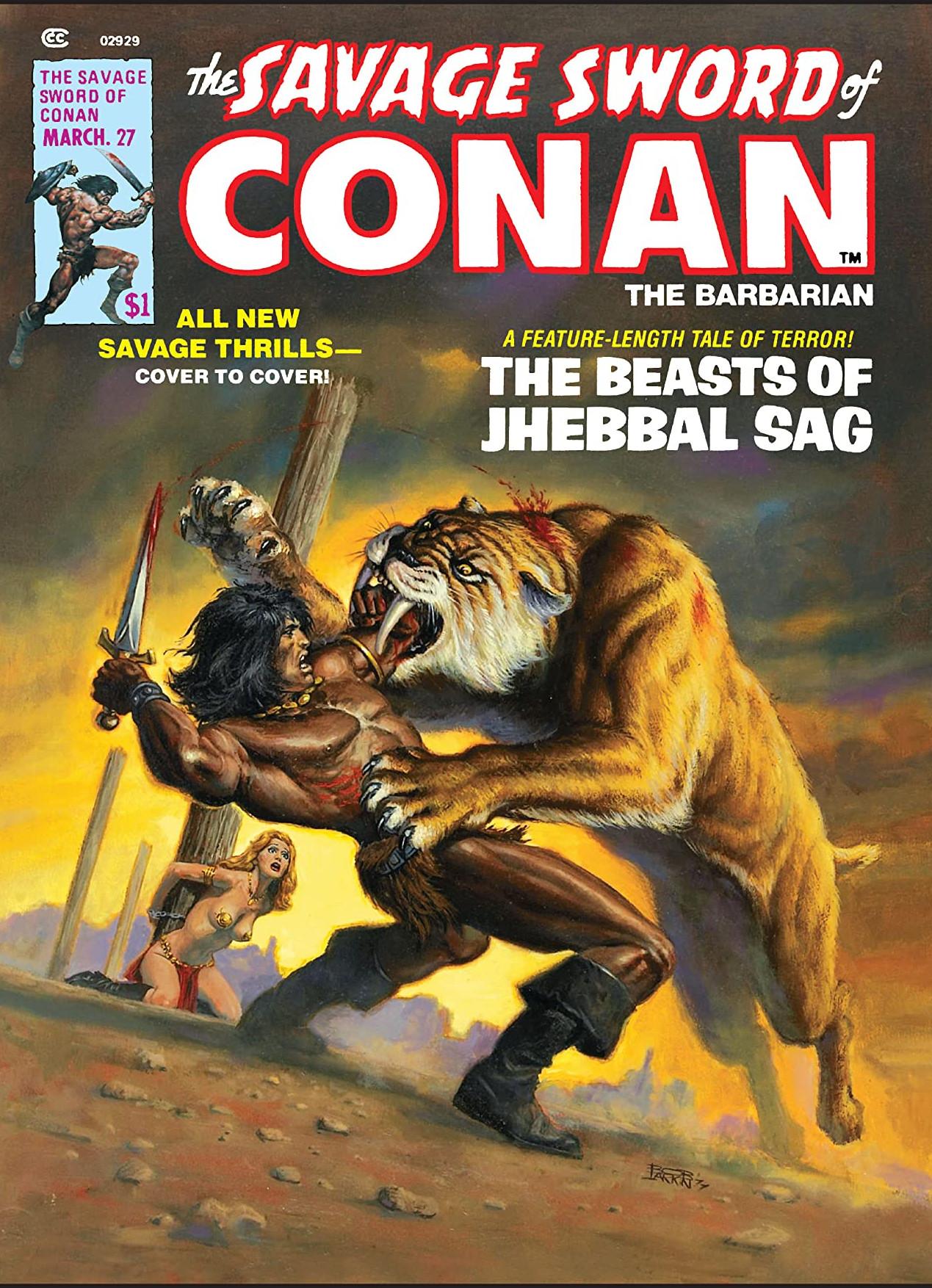 Savage Sword of Conan Vol 1 27