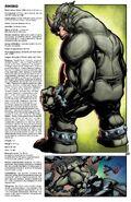 Sinister War Vol 1 2 Handbook Variant