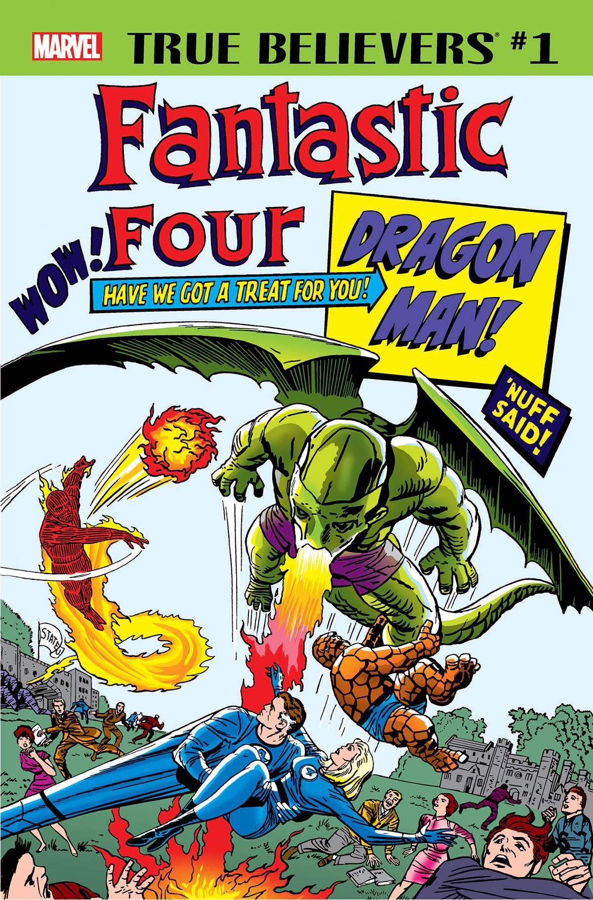 True Believers: Fantastic Four - Dragon Man Vol 1 1