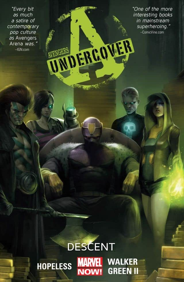 Avengers Undercover TPB Vol 1 1: Descent
