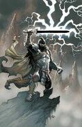 Black Knight Vol 3 1 Powell Variant Textless
