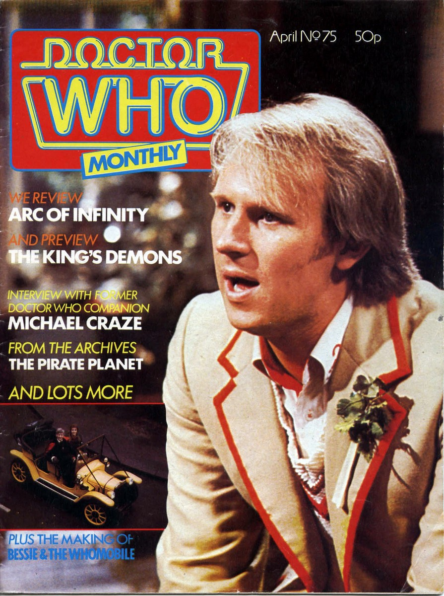 Doctor Who Monthly Vol 1 75