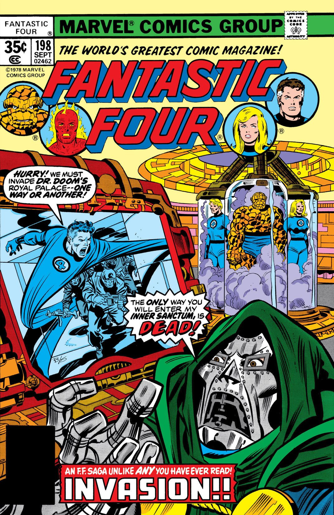 Fantastic Four Vol 1 198