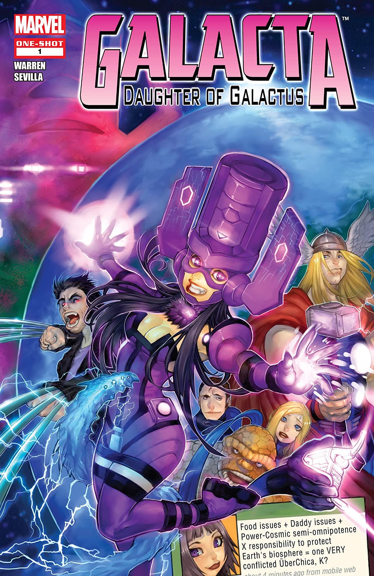 Galacta: Daughter of Galactus Vol 1 1