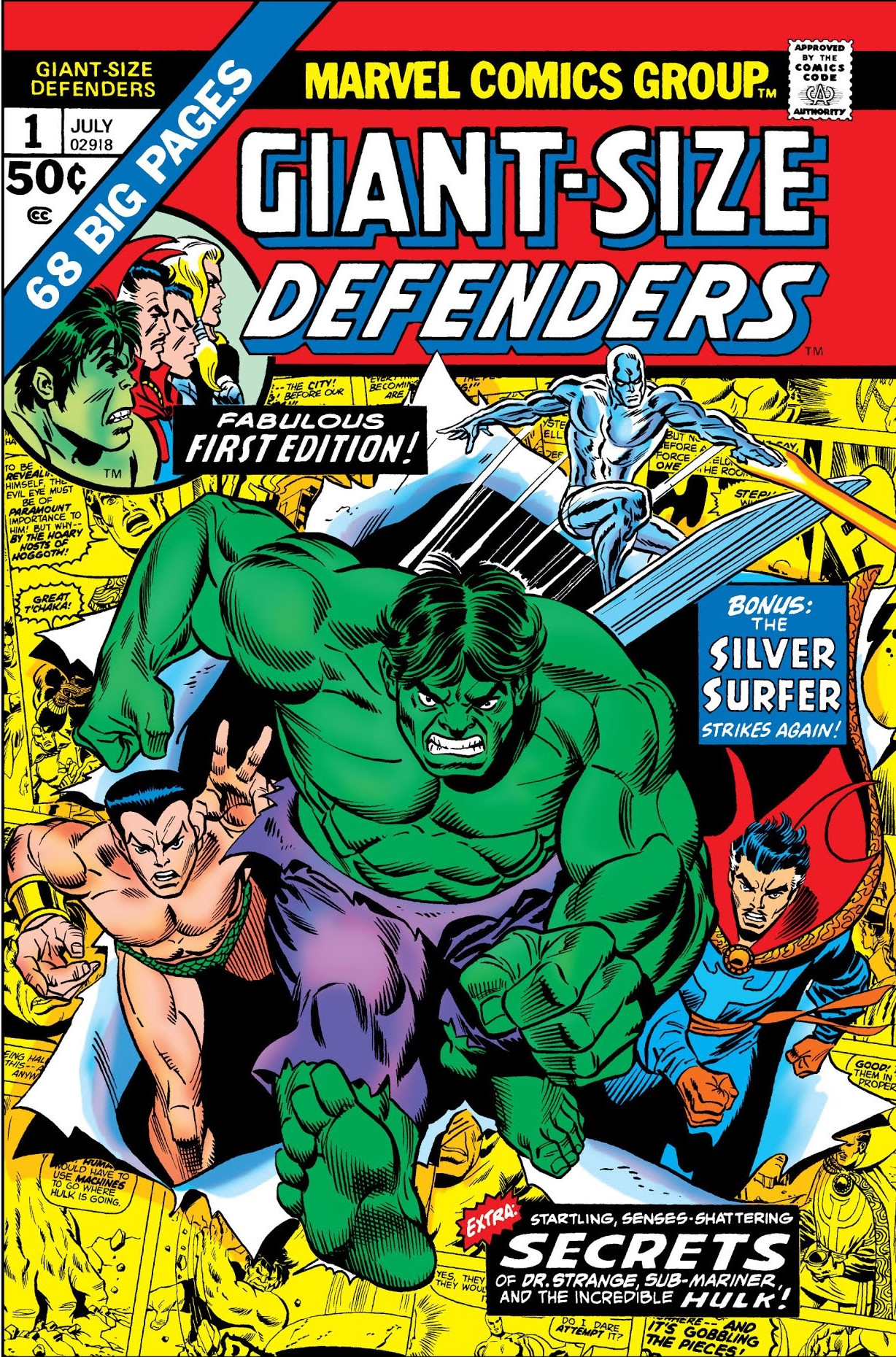 Giant-Size Defenders Vol 1 1