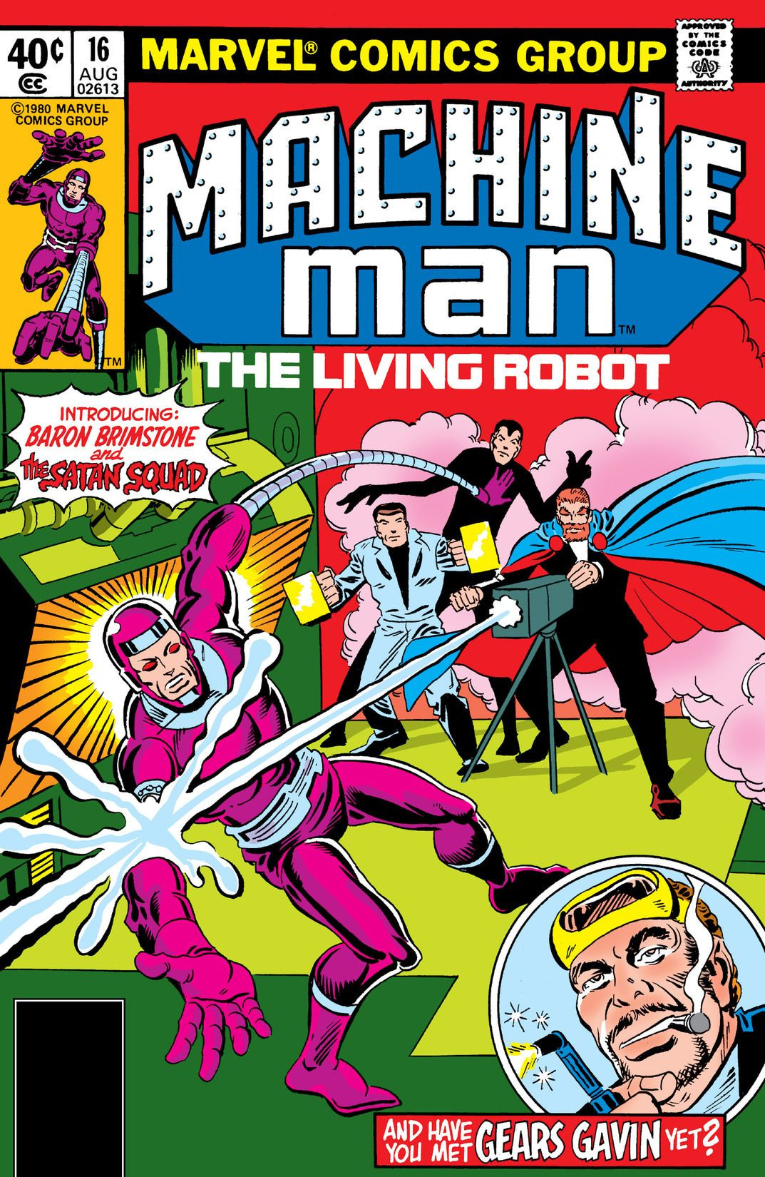 Machine Man Vol 1 16