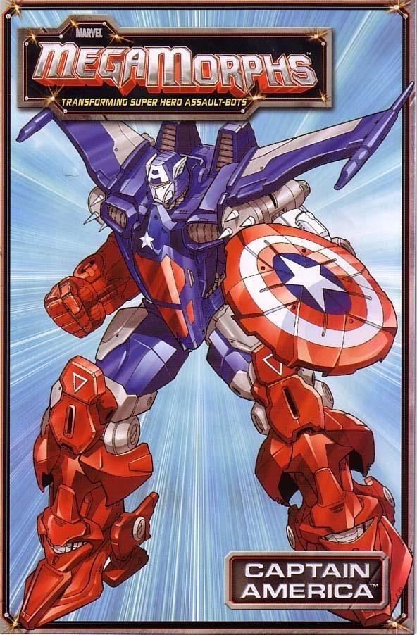 Marvel MegaMorphs: Captain America Vol 1 1