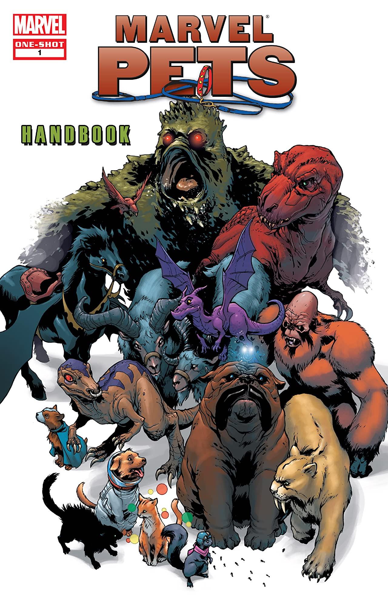 Marvel Pets Handbook Vol 1 1