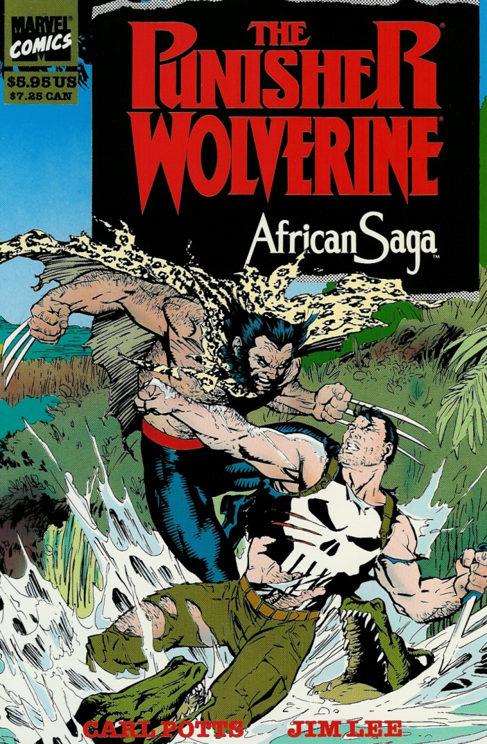 Punisher and Wolverine in African Saga Vol 1