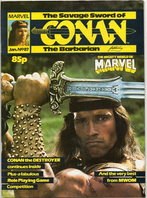 Savage Sword of Conan (UK) Vol 1 87