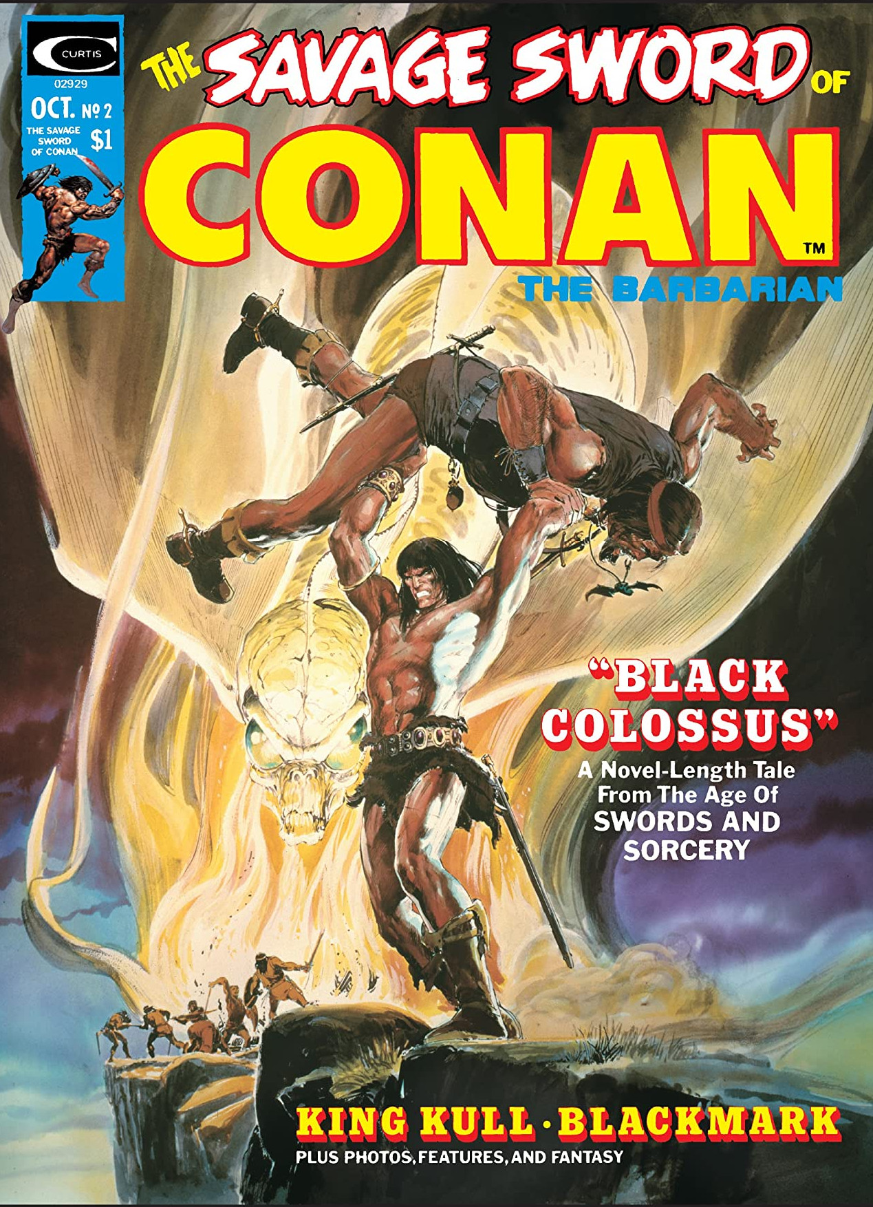 Savage Sword of Conan Vol 1 2