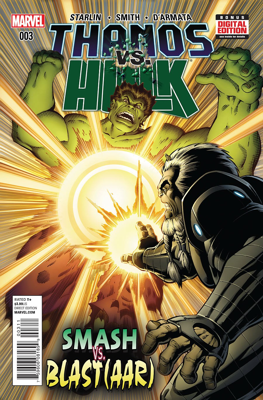 Thanos vs. Hulk Vol 1 3