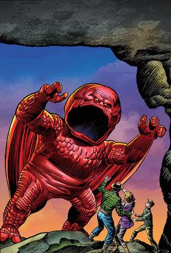 All-New, All-Different Avengers Vol 1 1 Kirby Monster Variant Textless.jpg