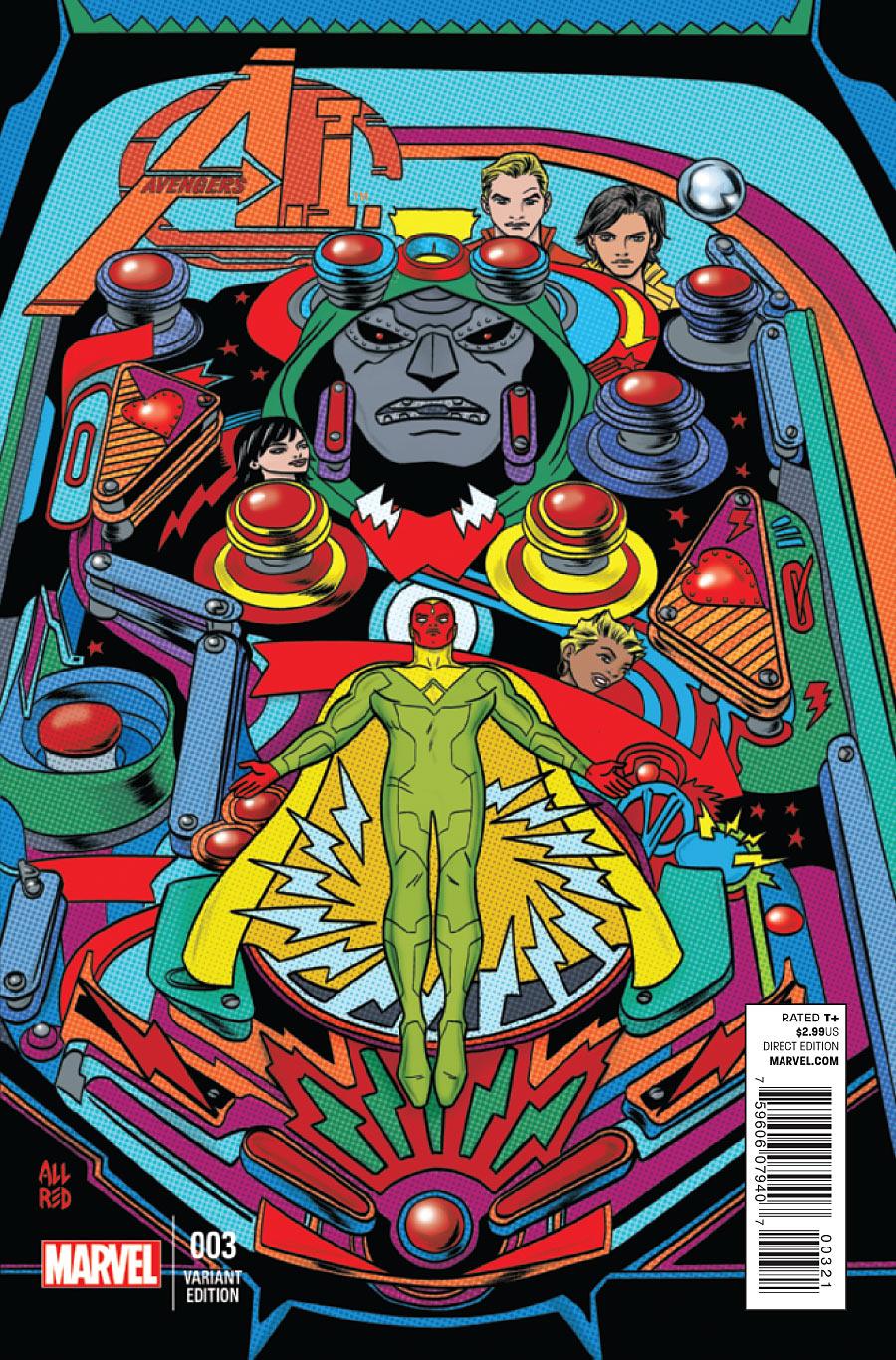 Avengers A.I. Vol 1 3 Allred Variant.jpg