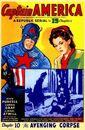 Captain America (1944 film serial) Poster 0002