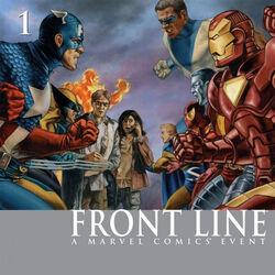 Civil War: Front Line Vol 1 1
