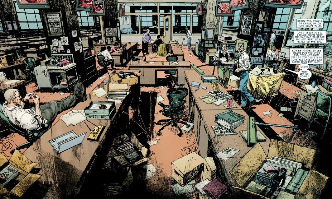 Daily Bugle (Earth-12121)/Gallery