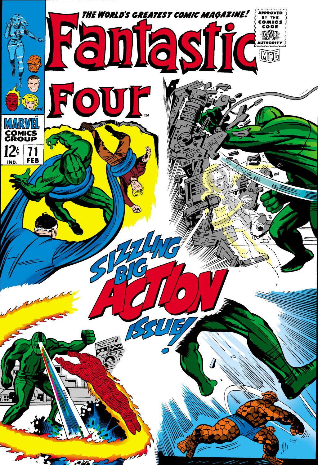 Fantastic Four Vol 1 71