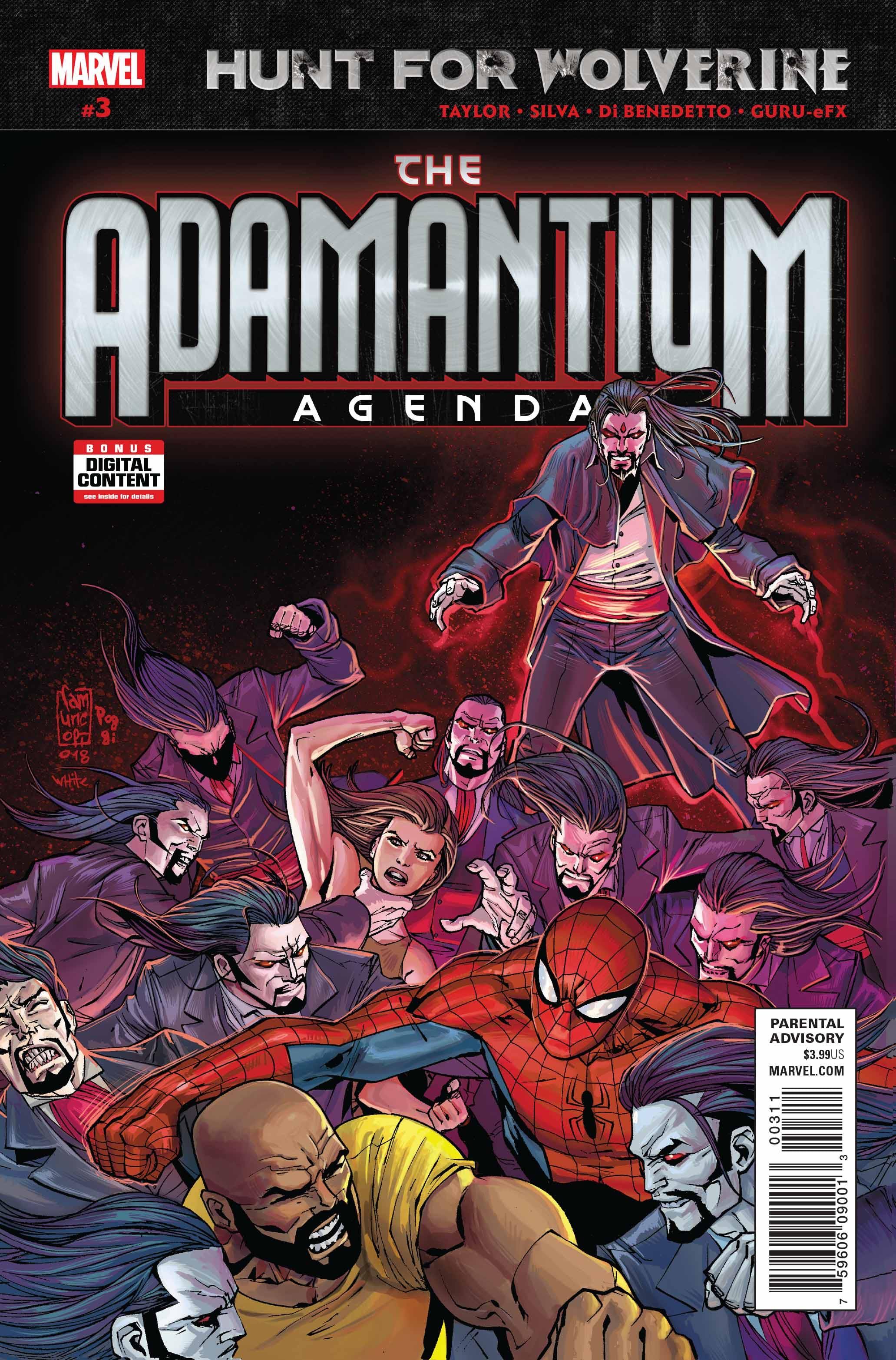 Hunt for Wolverine: Adamantium Agenda Vol 1 3