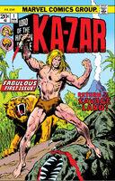 Ka-Zar Vol 2 1