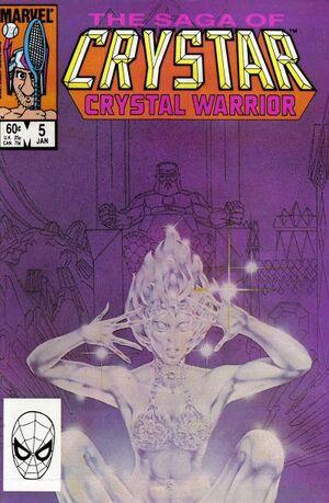 Saga of Crystar, Crystal Warrior Vol 1 5.jpg