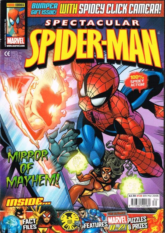 Spectacular Spider-Man (UK) Vol 1 130