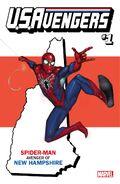 U.S.Avengers Vol 1 1 New Hampshire Variant