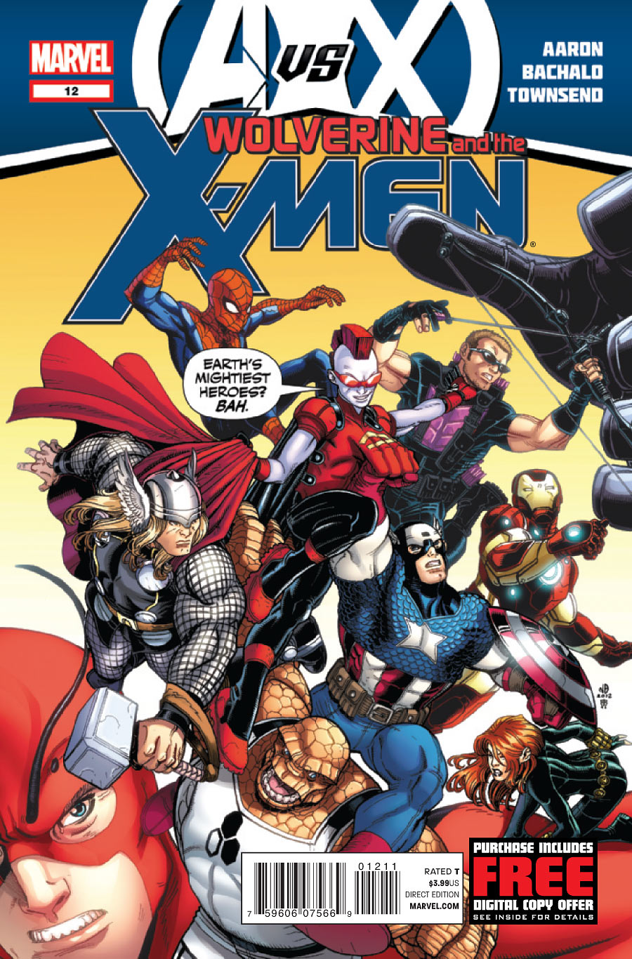 Wolverine and the X-Men Vol 1 12