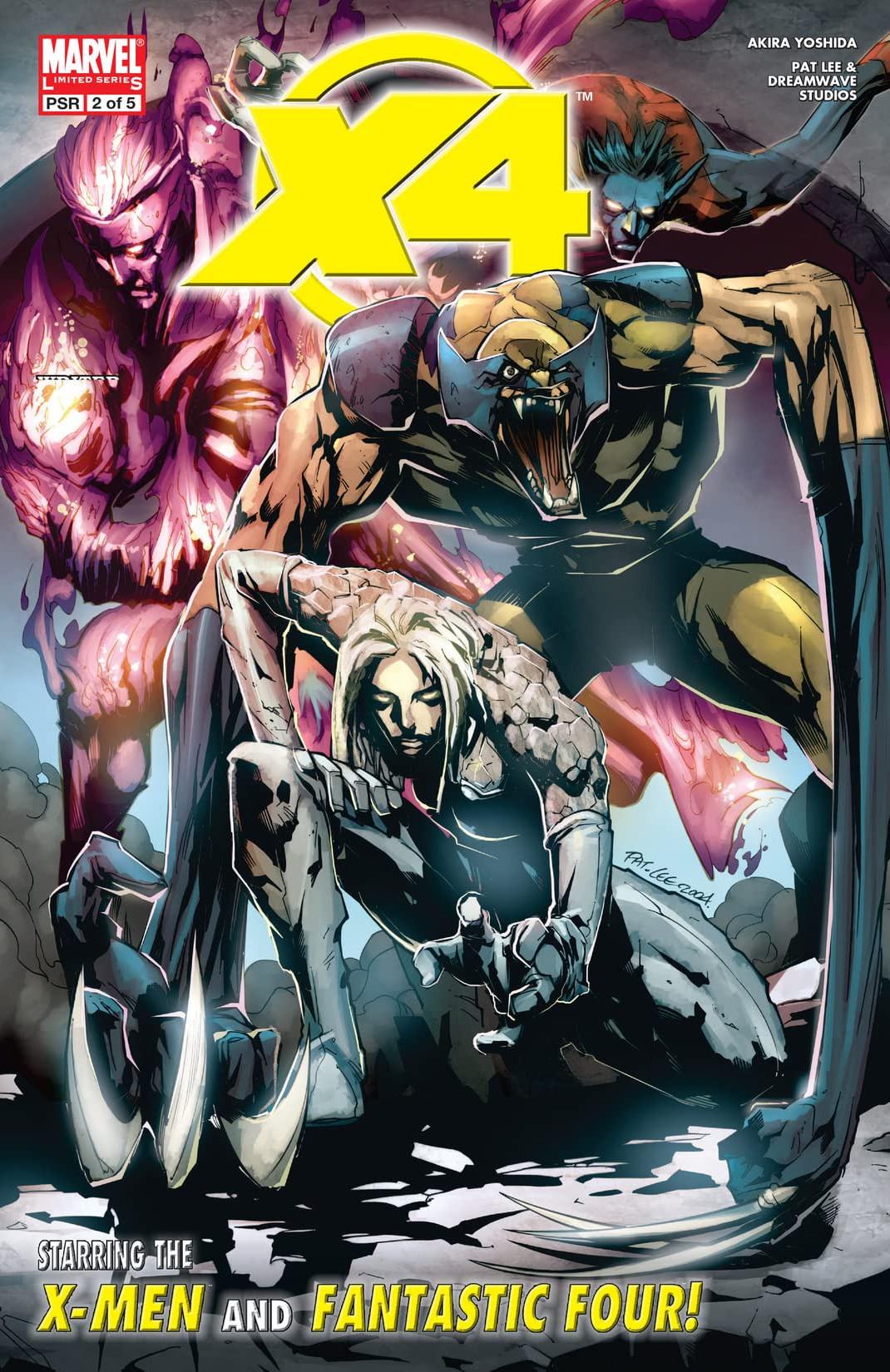 X-Men / Fantastic Four Vol 1 2