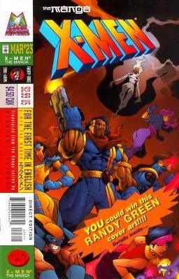 X-Men: The Manga Vol 1 23