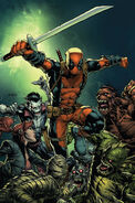 Deadpool Vol 8 1 Finch Variant Textless