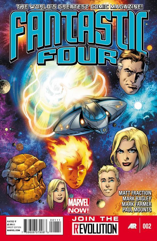 Fantastic Four Vol 4 2