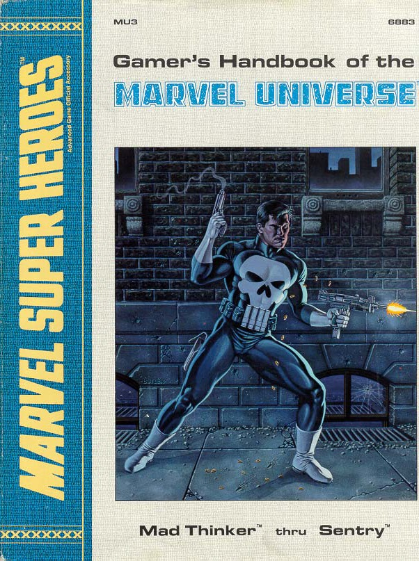 Gamer's Handbook of the Marvel Universe Vol 1 3