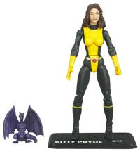 Katherine Pryde and Lockheed (Earth-616) from Marvel Universe (Toys) Series 2 Wave VIII 0001.jpg