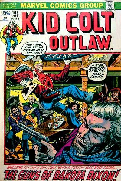 Kid Colt Outlaw Vol 1 163