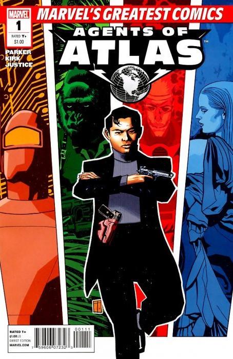 Marvel's Greatest Comics: Agents of Atlas Vol 1 1