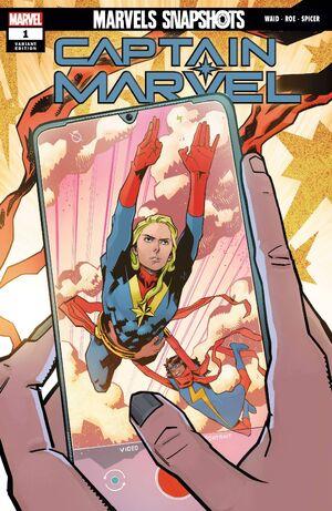 Marvels Snapshots Captain Marvel Vol 1 1 Roe Variant.jpg