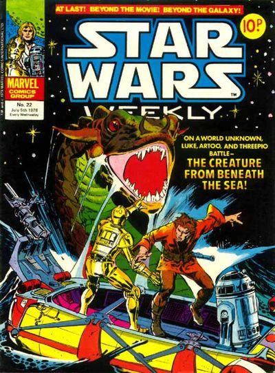 Star Wars Weekly (UK) Vol 1 22