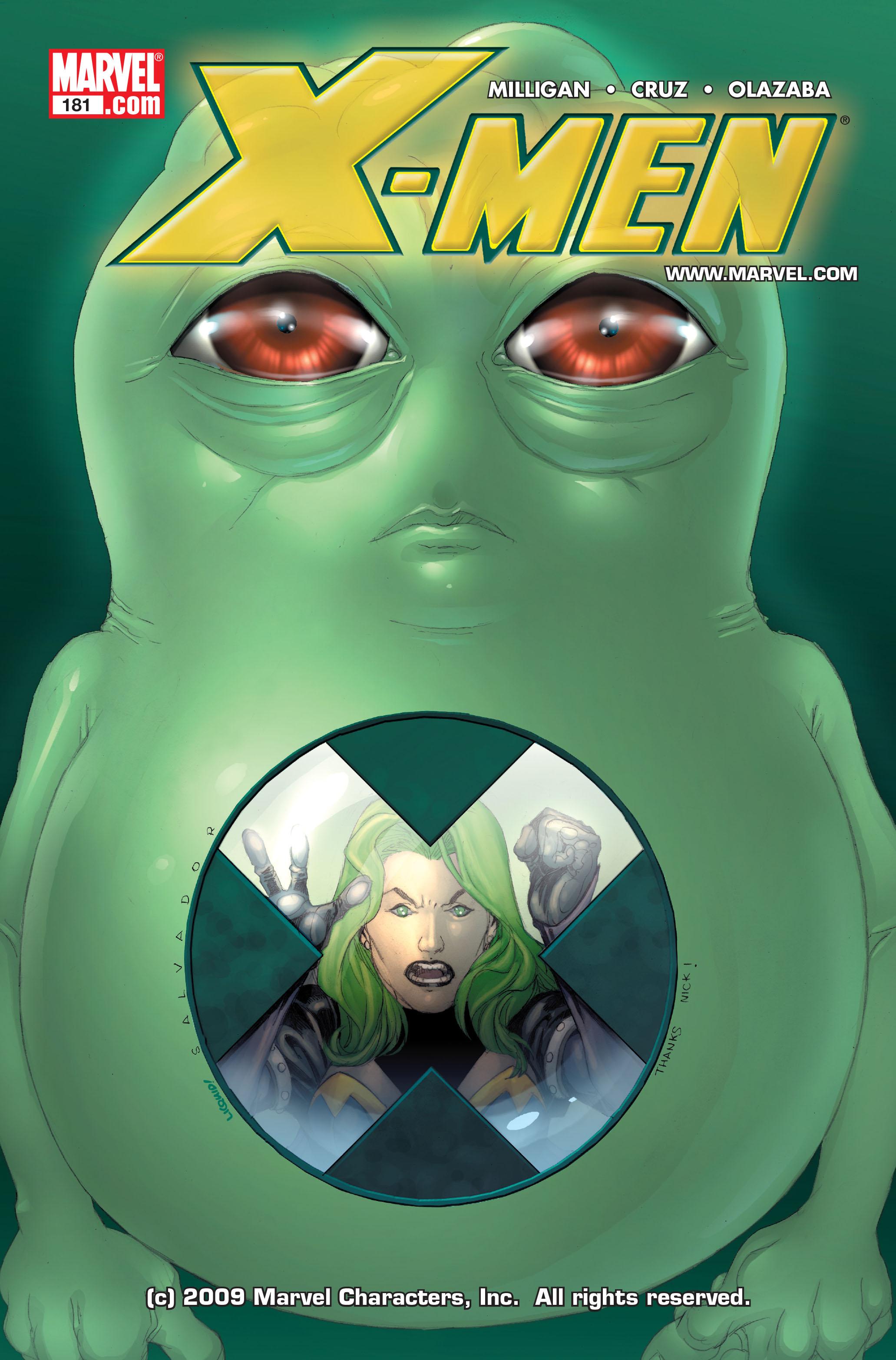 X-Men Vol 2 181