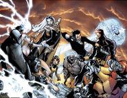 X-Men vs Agents of Atlas Vol 1 Ramos Connecting Variants Set Textless