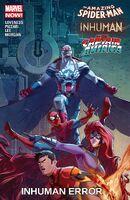 Amazing Spider-Man - Inhumans - All-New Captain America Inhuman Error Vol 1 1